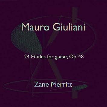 Mauro Giuliani: 24 Etudes, Op. 48