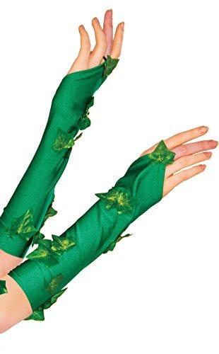 Rubie's Women's DC Comics Poison Ivy Glovelette, Green, One Size