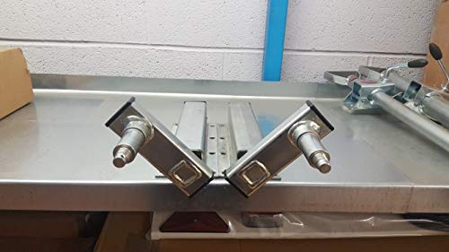Unidades de suspensión para remolque con tornillos de montaje (500 kg)