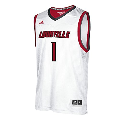 NCAA - Camiseta de baloncesto réplica - 118JA, Réplica de playera de baloncesto., M, Blanco