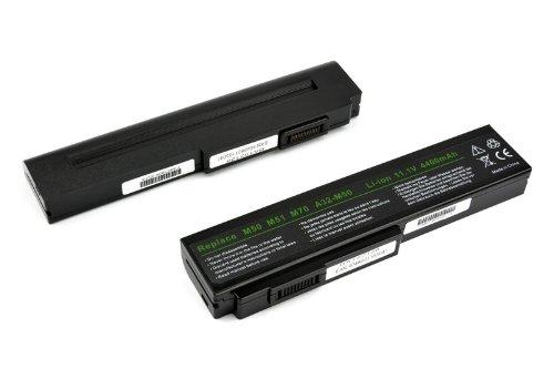 Batterie de rechange compatible avec asus a32–m50, bLACK