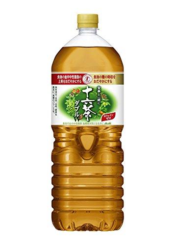 [トクホ]アサヒ 食事と一緒に十六茶W(ダブル) (2LPET×6本)×2箱