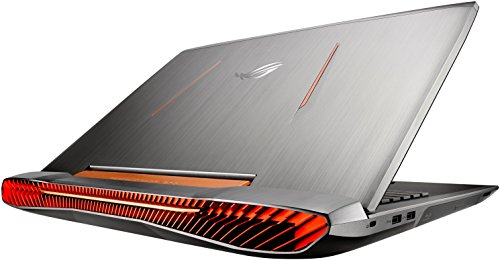 ASUS ROG G752VY-DH72 2.6GHz I7-6700HQ 15.6' 1920 x 1080Pixel Nero, Metallico notebook/portatile