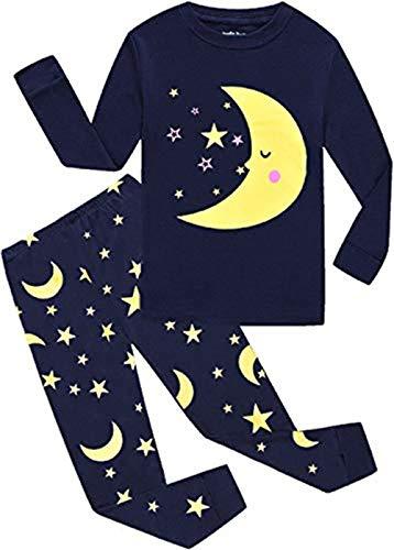 EULLA Schlafanzüge für Jungen Zweiteiliger Baumwolle Kinder Nachtwäsche Dinosaurier DE 98