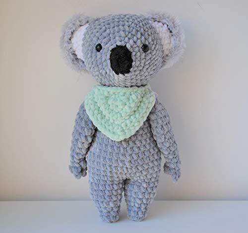 Koala peluche 30cm crocheté main Amigurumi Marshmallow Toys
