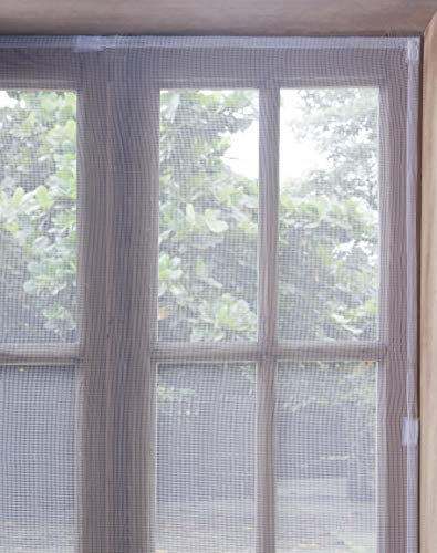 Tela Mosquiteiro Janela Protetora Tela Branyl Branco 1.25x1.25 m Tecido