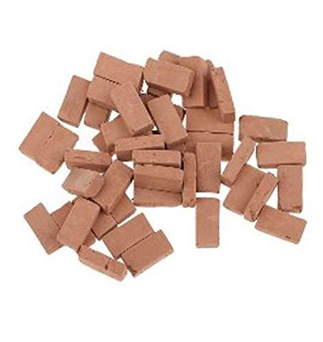 Hobby e blu 500 mattoncini in Terracotta per diorami e pavimentazioni presepi Misure Miste da mm 14x7x4 a mm 8x7x4