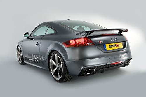 Sport Auspuff Milltek SSXAU253 Anlage ab KAT   DPF (TÜV) Kompatibel zu: TT RS Coupé (250 kW /340 PS)   HSN: 8307   TSN: ABH   TT RS Coupé (8J) 3-Türer Coupe
