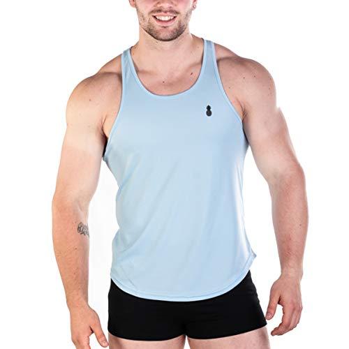 M/änner Gym Weste Camouflage Low Cut Bodybuilding Workout Tank Top Technischer Stringer Lifting Fitness /Übung Laufen Outfit Tops M-2XL