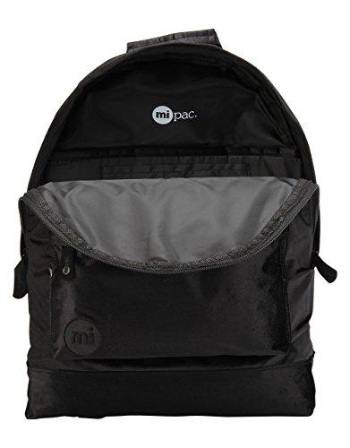 Mi-Pac Premium Backpack Mochila Tipo Casual, 41 cm, 17 litros, Velvet Black