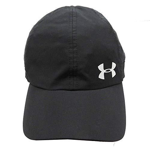 UNDER ARMOUR アンダーアーマー レディース ジュニア 女性用帽子 ランニング キャップ 帽子 55〜58cm - デザインG/ブラック