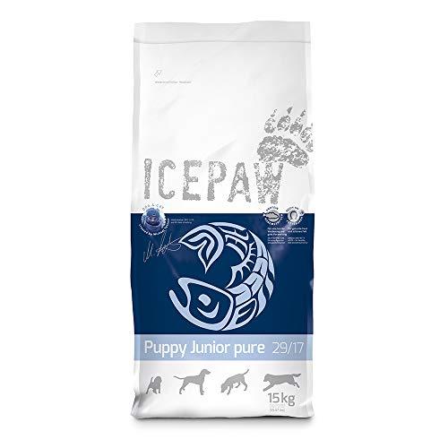ICEPAW Puppy Junior Pure Trockenfutter für Hunde, 1x15kg Sack
