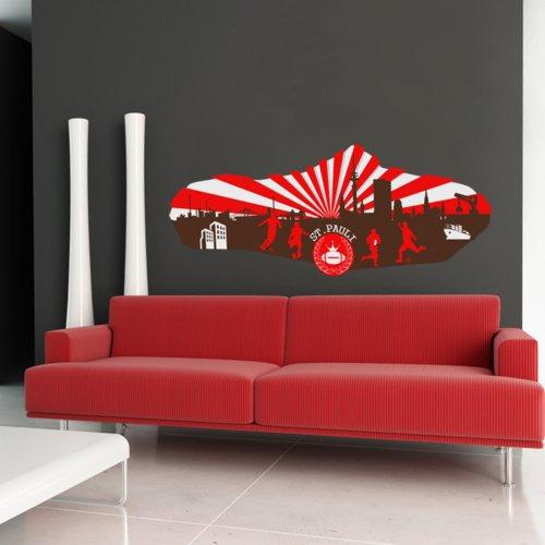 sticker mural 90x33 cm autocollants 90x33 040103-5