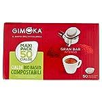 Gimoka-Cialde-Ese-44-Compatibili-con-Sistema-Easy-Serving-Espresso-in-Carta-Compostabile-Gusto-Intenso-50-Cialde-Caffe
