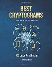 Best cryptoquote puzzle books Reviews