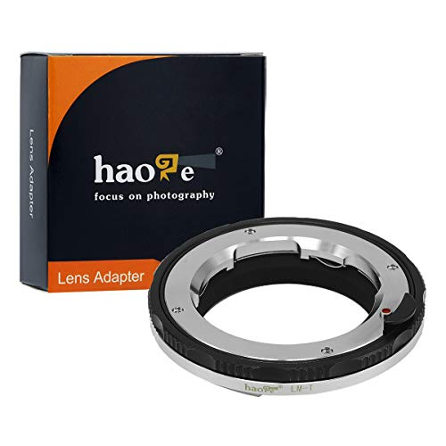 Haoge Macro Focus Lens Mount Adapter for Leica M LM, Zeiss ZM, Voigtlander VM Lens to Leica L Mount Camera Such as T, Typ 701, Typ701, TL, TL2, CL (2017), SL, Typ601, Panasonic S1 / S1R / S1H Copper