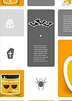 igsticker ポスター ウォールステッカー シール式ステッカー 飾り 1030×1456㎜ B0 写真 フォト 壁 インテリア おしゃれ 剥がせる wall sticker poster 007184 ユニーク ハロウィン キャラクター