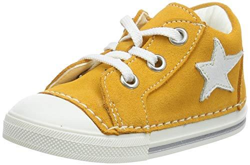Däumling Unisex Baby Esther Sneaker, Gelb (Turino Mango 72 72), 18 EU