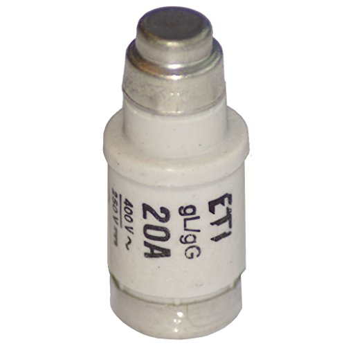 10x NEOZED E18 D02 Schmelzeinsatz Sicherung 20A gL/gG