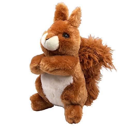 JuniorToys Eichhörnchen Plüschtier 24cm - Extra kuscheliges Stofftier