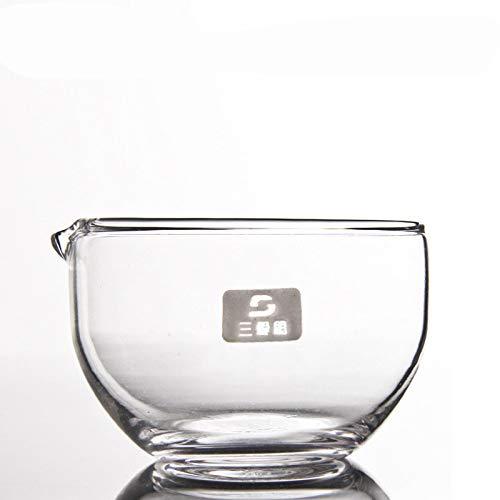 juler Vetreria per Laboratorio Chimica analitica Lastra di Vetro a Fondo Piatto per evaporazione 90mm BORO3.3 Materiale ad Alto Spessore di borosilicato,Trasparente,Taglia Unica