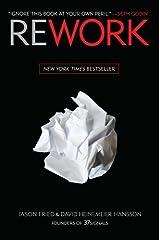 (Rework) [By: Fried, Jason] [Mar, 2010] Hardcover