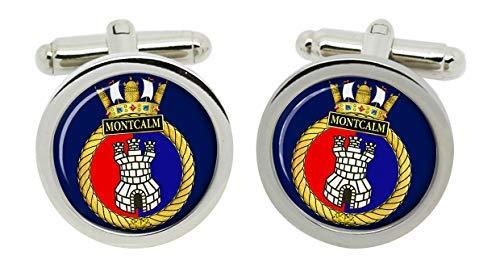 Gift Shop Hmcs Montcalm, Königliche Kanadischen Marineblau Manschettenknöpfe in Box