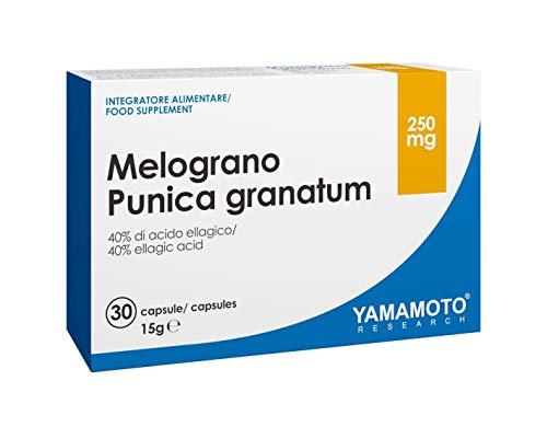 Yamamoto Research, Melograno Punica Granatum, Confezione da 30 Capsule, 250 mg