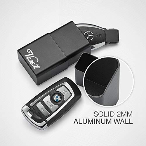 VONETTI RFID Keyless Go Blocker GROSS 10cm Autoschlüssel Schutzdose B-Ware