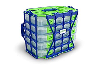 Lure Lock Lockers Set of 5 Tackle Boxes with Proprietary Gel Technology to Keep Lures in Place