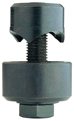Ruko 109300 Punzonadora de tornillo (30 mm), Negro