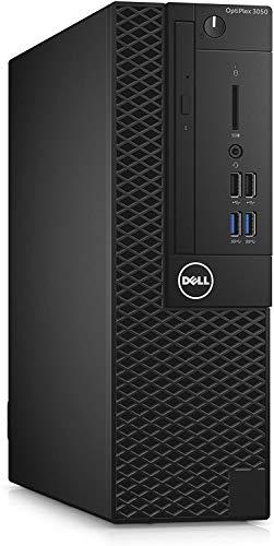 Dell 3050 SFF PC Core i5-6500 3.2Ghz 8GB 256GB SSD Windows 10 Home (Renewed)