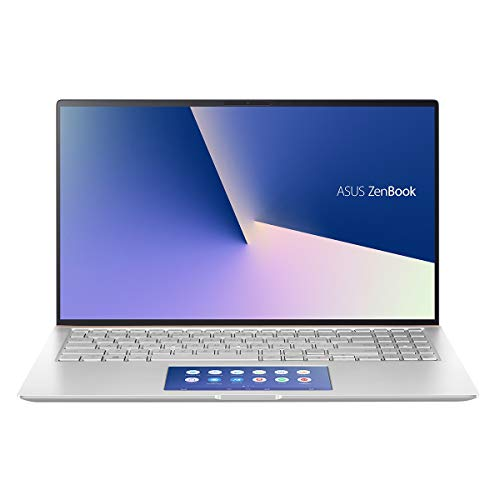 "ASUS Zenbook UX534FTC-A8094T - Portátil de 15.6"" FullHD (Intel Core i7-10510U, 16GB RAM, 512GB SSD, GTX1650-4GB, Windows 10) Plata - Teclado QWERY Español"