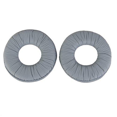 Unbekannt Ohrpolster Kissen Für Sony MDR Zx100 ZX300 Headset Kopfhörer Grau