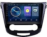 Nav Compatible con Nissan QashQai X-Trail 2013-2016 Sistema de navegación GPS para automóvil Navegador satelital Reproductor de DVD Rastreador Bluetooth wifi Estéreo Auto Radio Pantalla táctil Cámara