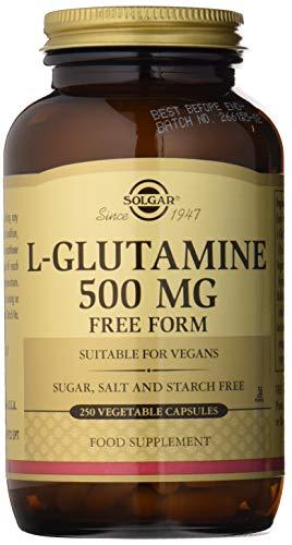 Solgar L-Glutamina Cápsulas vegetales de 500 mg - Envase de 250