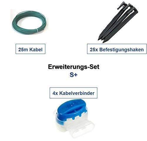 genisys Erweiterung Set S Bosch Indego ® 350 400 800 Connect Kabel Haken Verbinder Paket