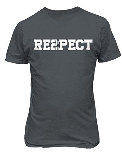 KINGS SPORTS Derek Jeter Retirement New York Captain Re2pect Men's T Shirt (Charcoal,XL)