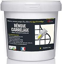 Arcane Industries Tegelspatel voor badkamer, keuken, muur en vloer, bedekt en vernieuwt aardewerk, afdekken – renove vierk...