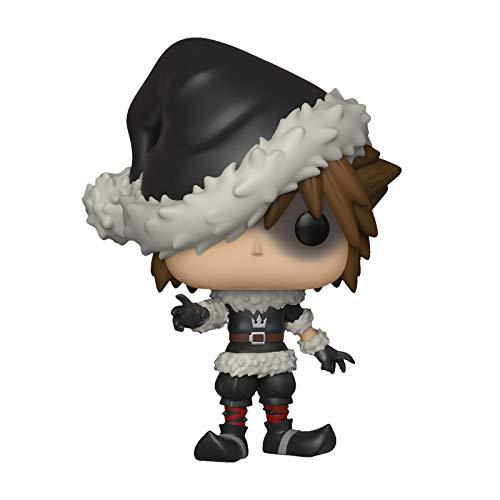 Kingdom Hearts Disney Figure Sora Christmas Town Funko Pop No.449 Vinilo 12.5cm