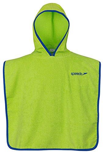 Speedo Poncho Microterry If, Accappatoio Unisex, Verde Mela, Taglia unica
