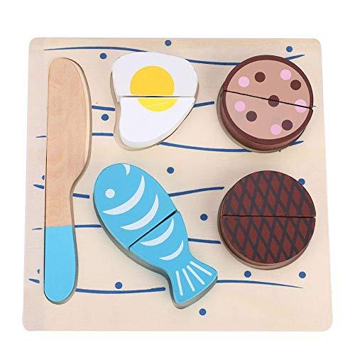 Seacanl Pretend Food Lot, Pretend Play Food, Material no tóxico para niñas Niños Cocina Hogar(Vegetable Puzzle 01)