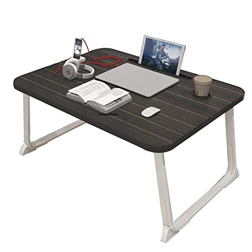 ZWJLIZI Folding Table, European Ins Style Bay Window Low Table, Home Portable Bed Computer Table/dining Table (Color : C, Size : 80X50X32CM)