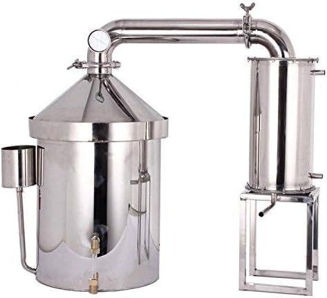 YUEWO 32 160L Wine Making Kits Moonshine Still Water Alcohol Distiller Brandy Grape Vodka Spirit product image