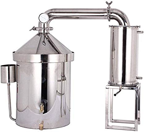 Alcohol Distiller Thermometer For Wine Maker Oil Water Still Distiller Home
