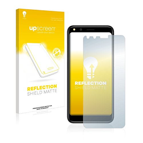 upscreen Entspiegelungs-Schutzfolie kompatibel mit Doogee X53 – Anti-Reflex Bildschirmschutz-Folie Matt