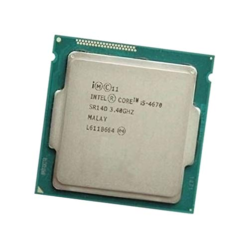 Intel Prozessor CPU 4 Core I5-4670 SR14D 3.40Ghz FC - LGA 1150 6Mo 5GT/S Haswell