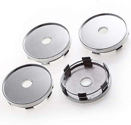 4 Pcs 60mm For Mazda Chicago Mall Black Rim Caps Product Wheel Emblems Center Hu