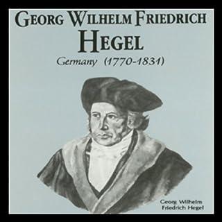 Georg Wilhelm Friedrich Hegel audiobook cover art