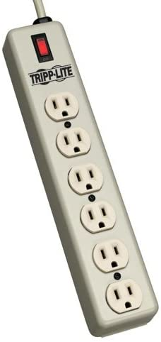 Tripp Lite 6 Outlet Waber Industrial Strip Max 79% OFF Discount is also underway Power with Cord 6ft
